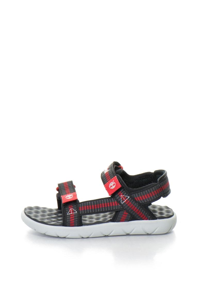 Sandale cu velcro si aspect texturat Perkins Row