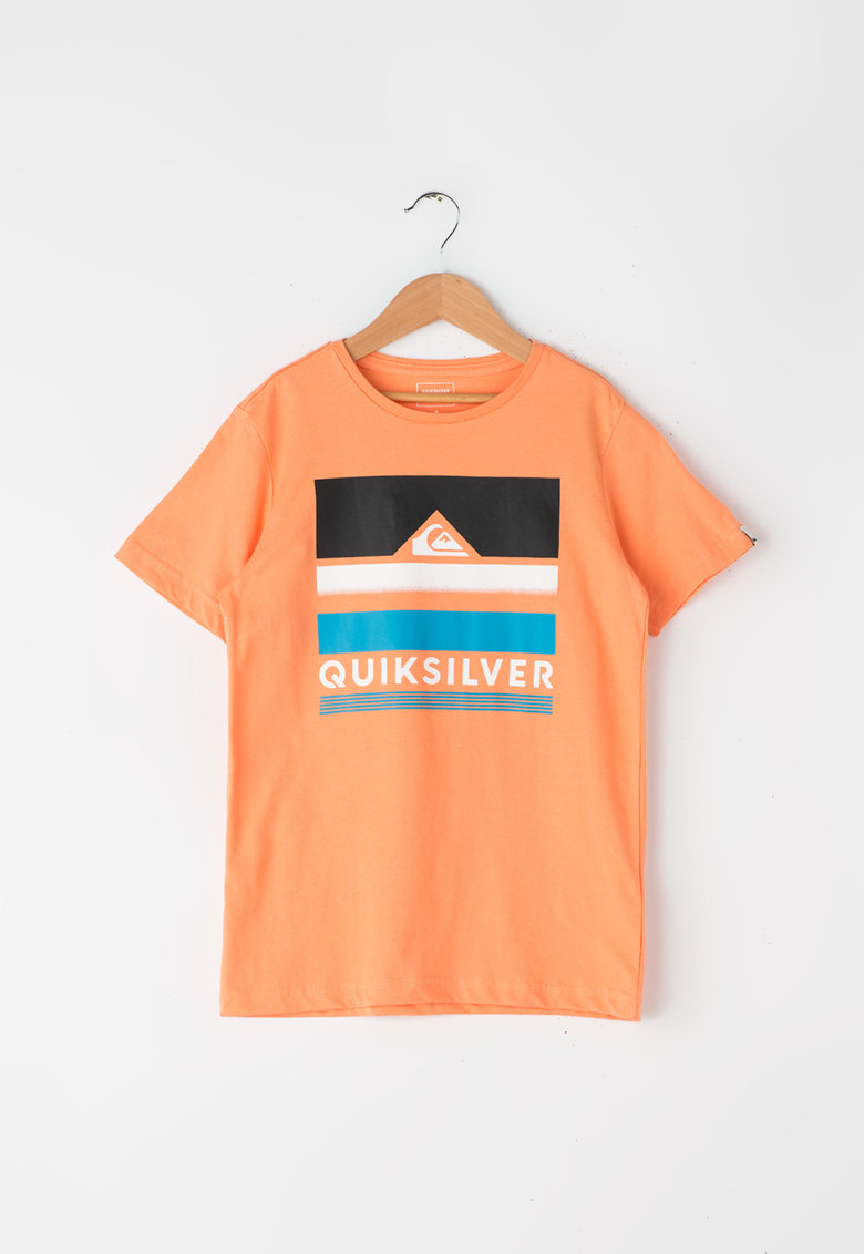 Tricou regular fit cu imprimeu logo de la QUIKSILVER