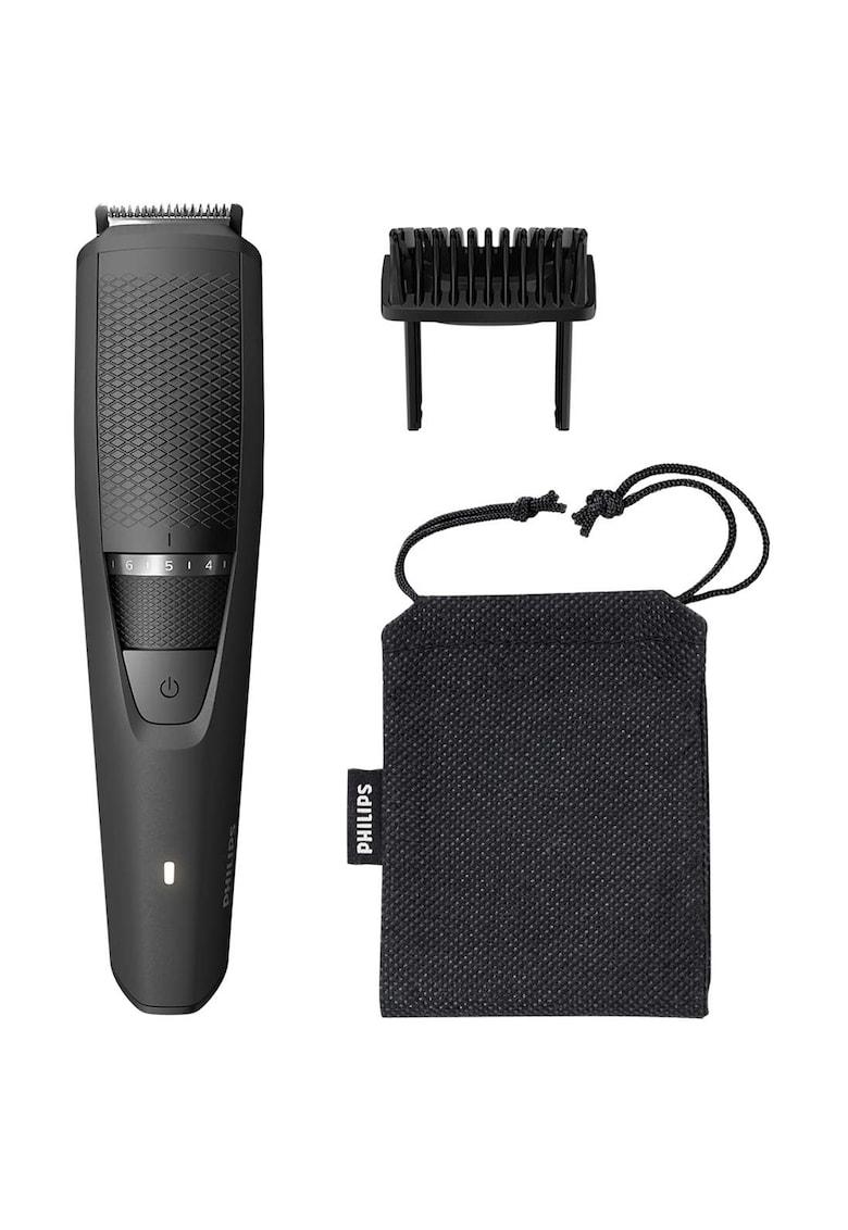 Philips Masina de tuns barba  /14 - 20 setari - 0.5 - 10 mm - Durata de functionare/Incarcare 60 de minute - Negru