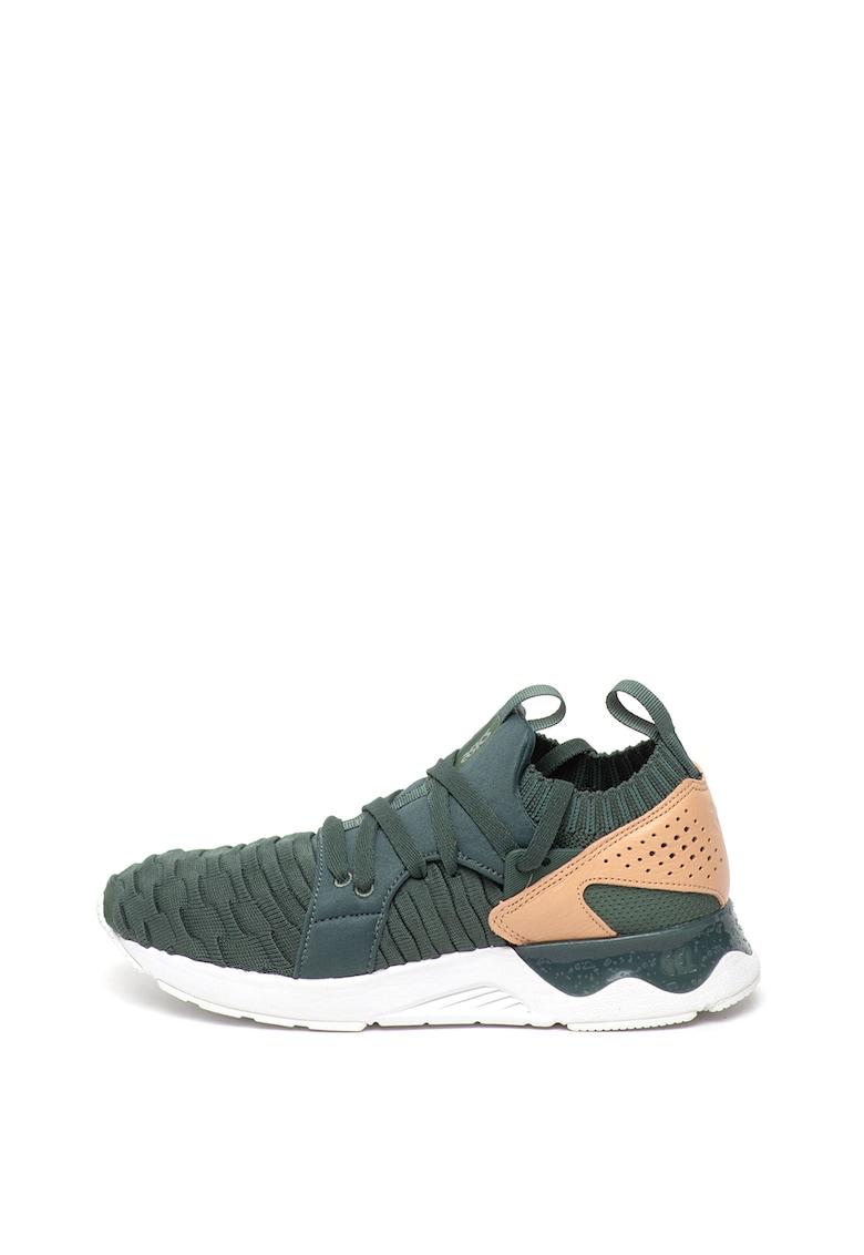 Pantofi sport din tricot cu insertii din piele Gel-Lyte V Sanze imagine