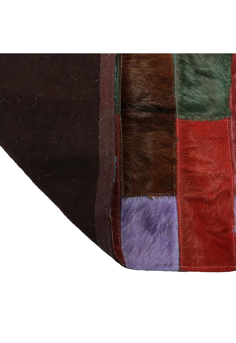 Covor  piele naturala - Multicolor