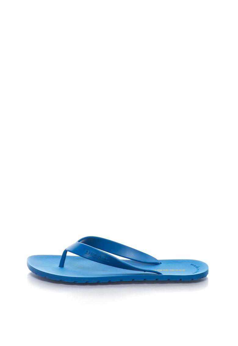 Papuci flip-flop cu logo Plaja Splish imagine