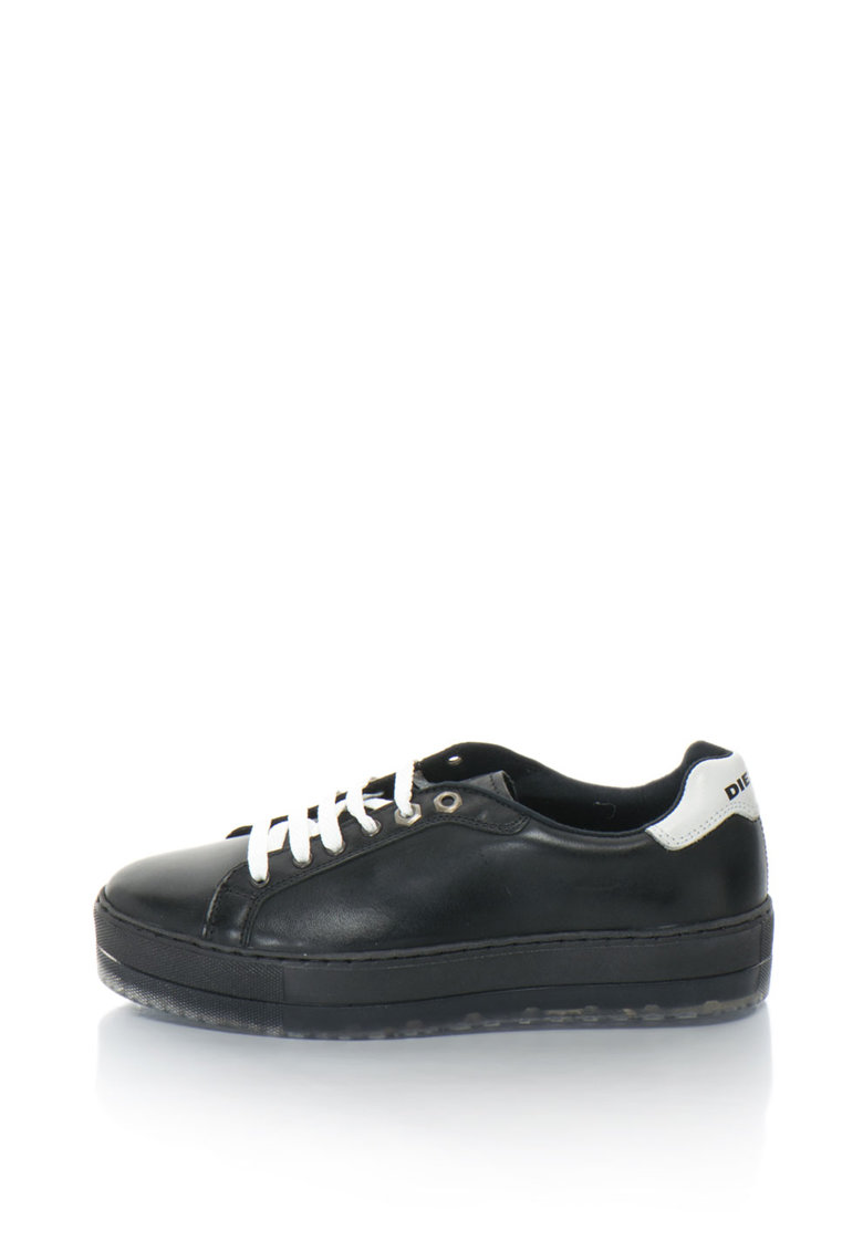 Pantofi sport din piele cu logo S-Andryes
