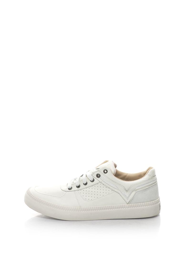 Diesel Pantofi sport de piele cu detalii perforate Spaark