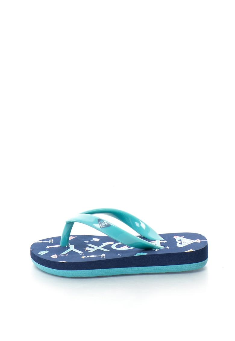 Papuci flip-flop cu imprimeu