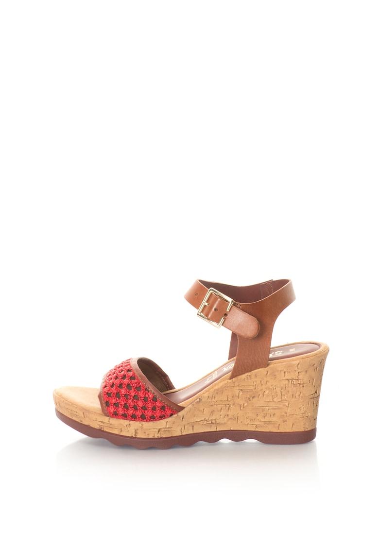 Sandale wedge s.Oliver fashiondays.ro