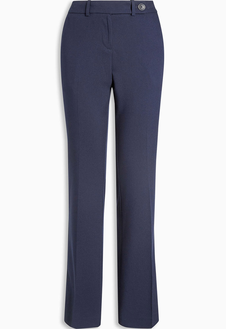 Pantaloni lungi cu buzunare cu refilet pe partea din spate