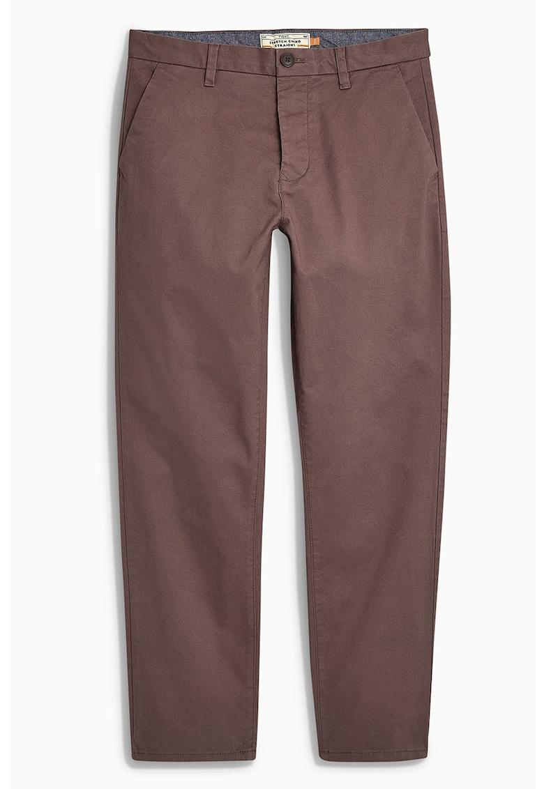Pantaloni chino straight fit 10