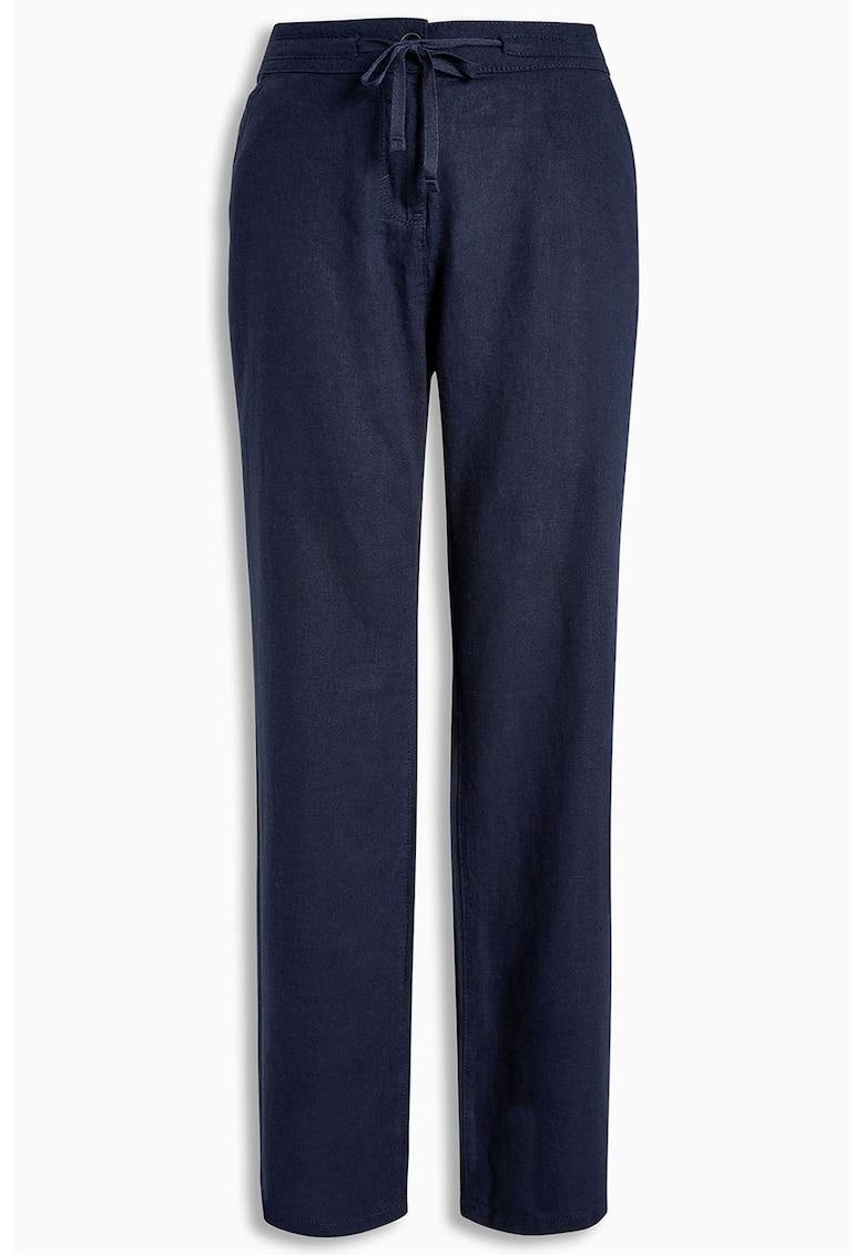 NEXT Pantaloni drepti din amestec de in 1
