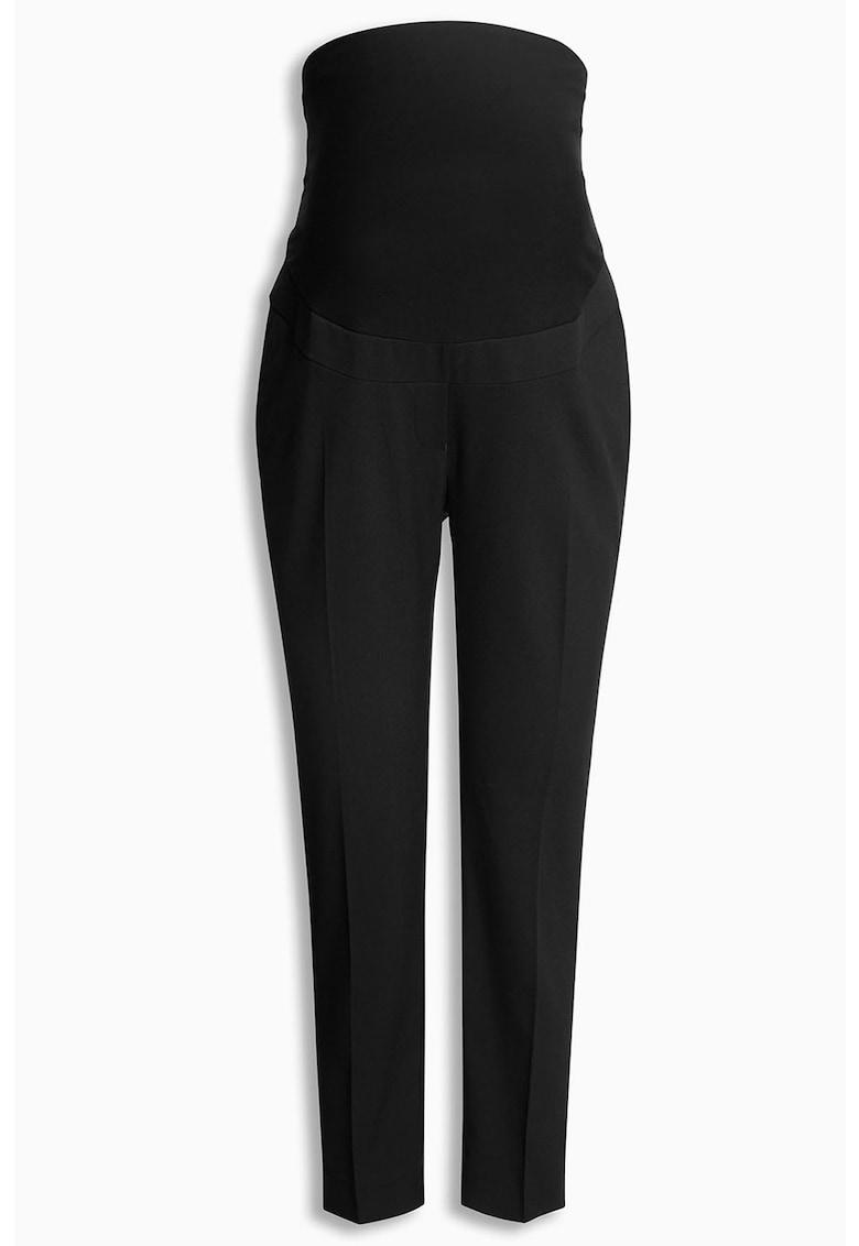 Pantaloni cu croiala conica pentru gravide thumbnail