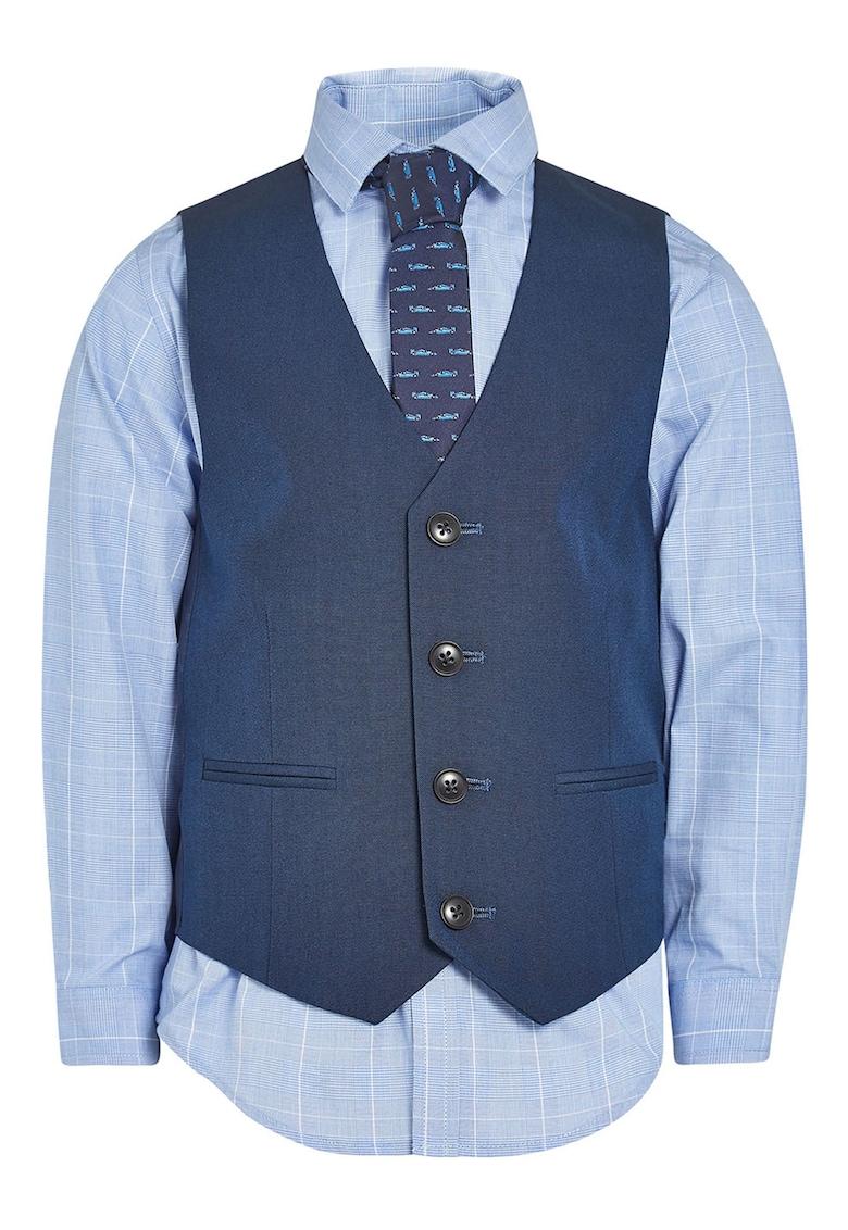 NEXT Set de vesta – camasa si cravata
