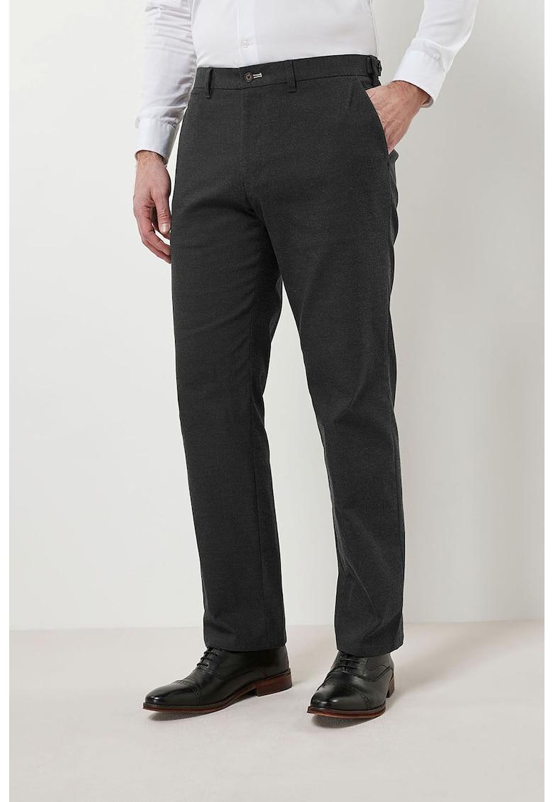 Pantaloni eleganti regular fit 1 de la NEXT