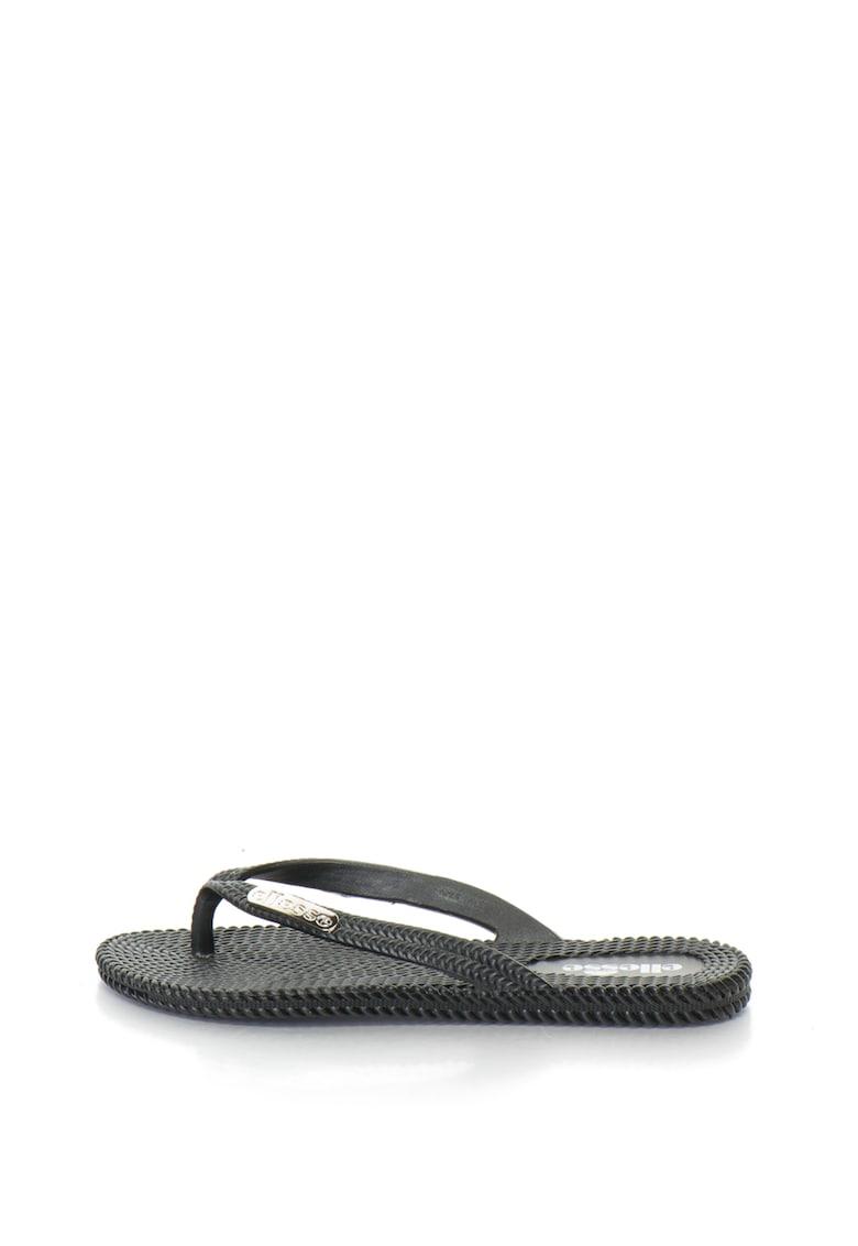 Papuci flip-flop cu aspect impletit Lara de la ELLESSE