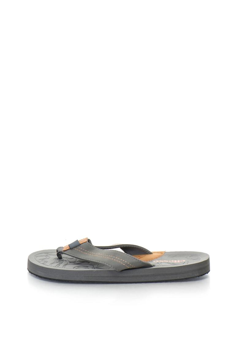 Papuci flip-flop cu brant texturat Santos de la ELLESSE