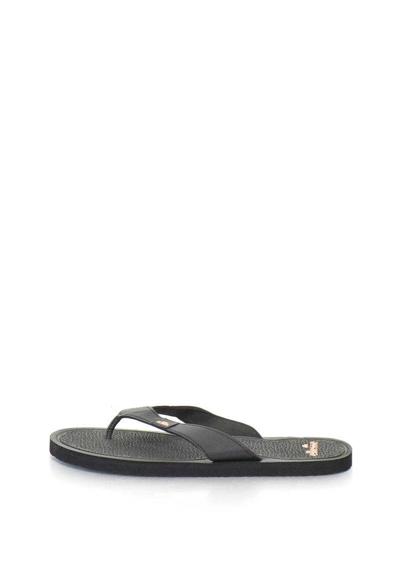 Papuci flip-flop cu imprimeu logo Sahbi de la ELLESSE