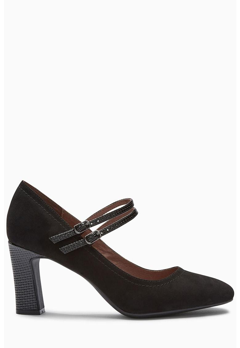 NEXT Pantofi Mary Jane cu toc masiv