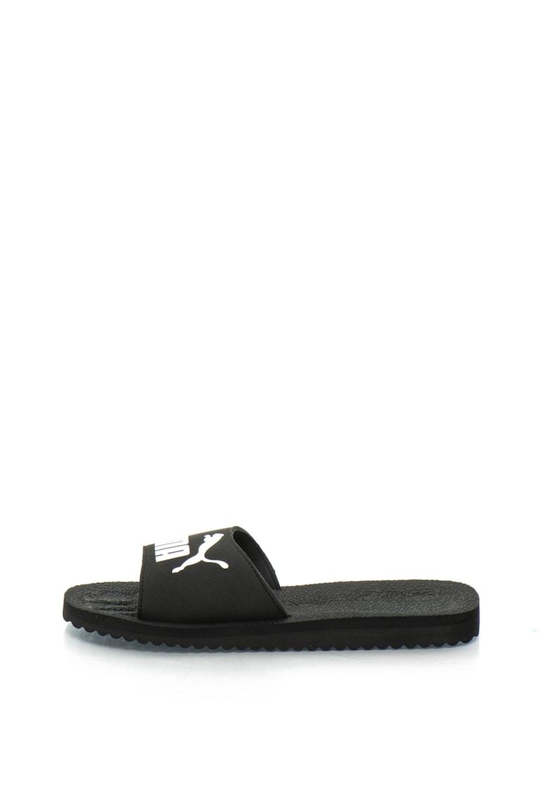 Papuci cu logo Purecat