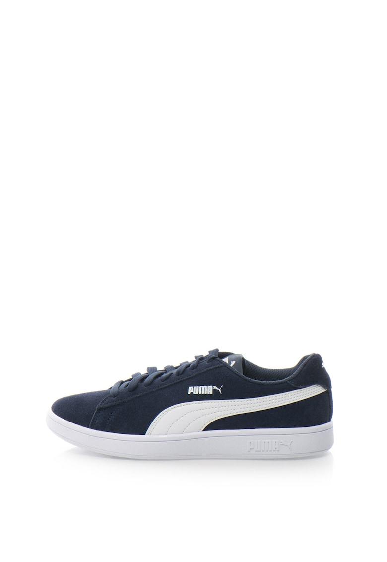 Puma Pantofi sport de piele intoarsa Smash – Unisex
