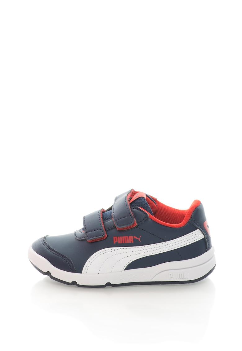 Puma Pantofi sport de piele sintetica cu velcro Stepfleex 2 SL V PS