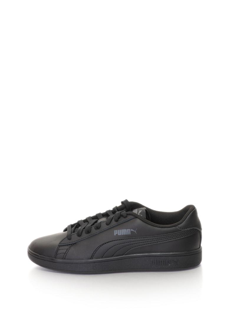 Puma Pantofi sport cu garnituri de piele Smash v2 – Unisex