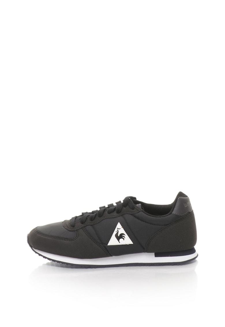 Le Coq Sportif Pantofi sport unisex cu aplicatie logo Onyx