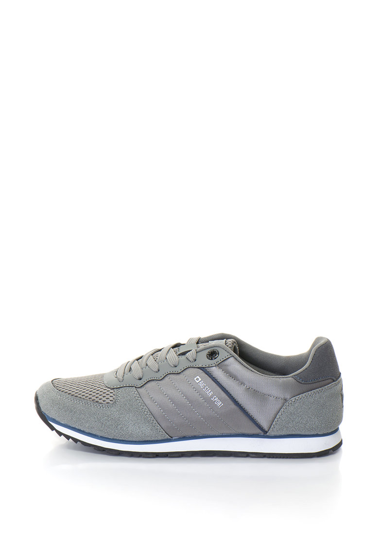 BIG STAR Pantofi sport cu garnituri de piele intoarsa sintetica