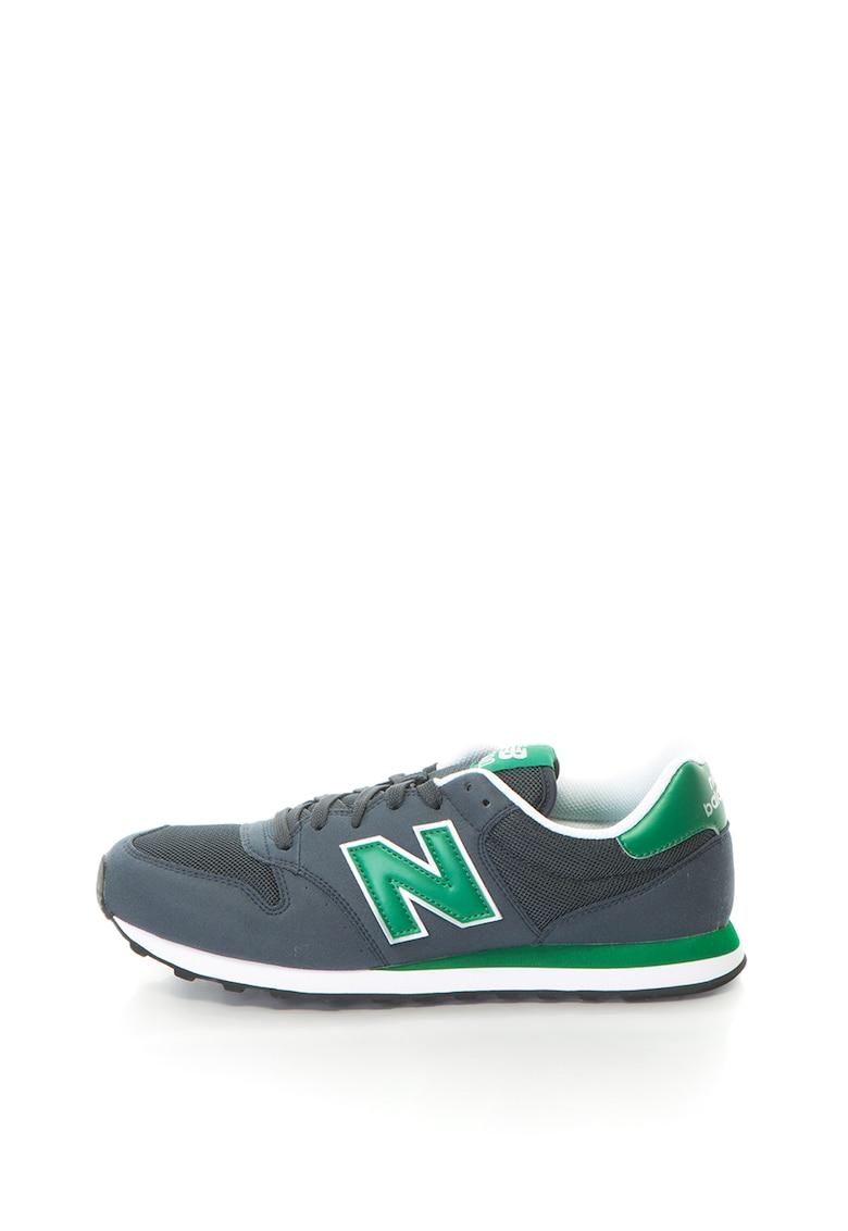 New Balance Pantofi sport cu insertie de plasa 500