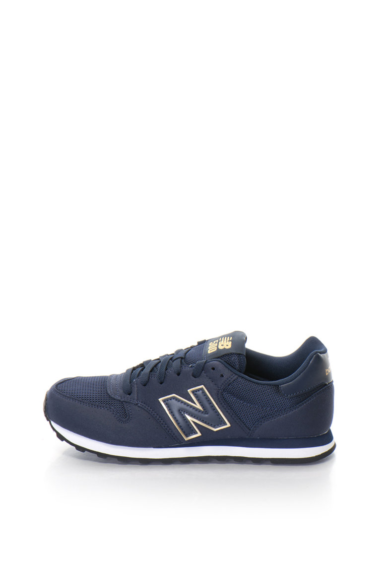 New Balance Pantofi sport cu garnituri de piele intoarsa sintetica