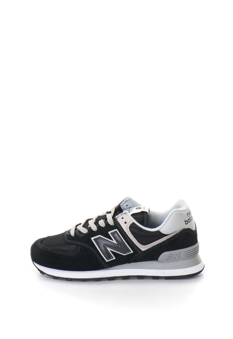 New Balance Pantofi sport cu insertii de piele intoarsa 574 Classic