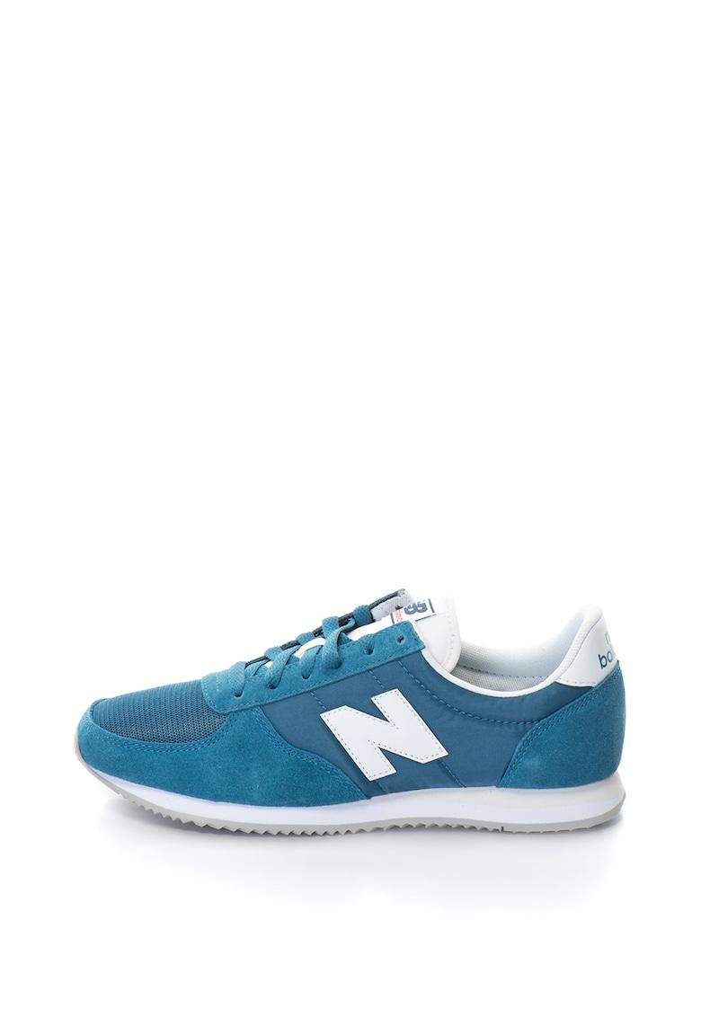 New Balance Pantofi sport unisex din piele intoarsa si material textil – pentru alergare – 220