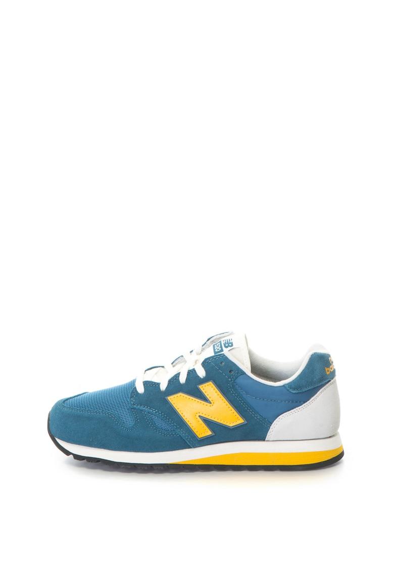 New Balance Pantofi sport cu garnituri de piele intoarsa 520