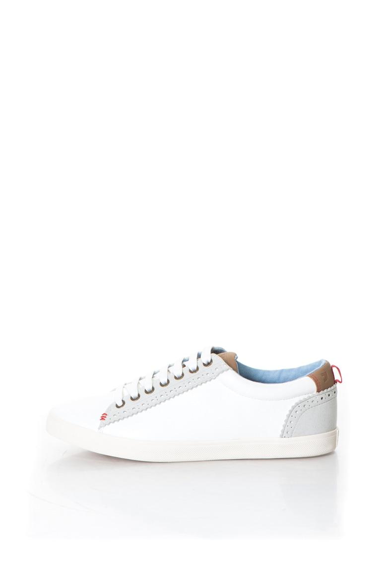 Gioseppo Pantofi sport de piele sintetica cu garnituri de piele intoarsa sintetica