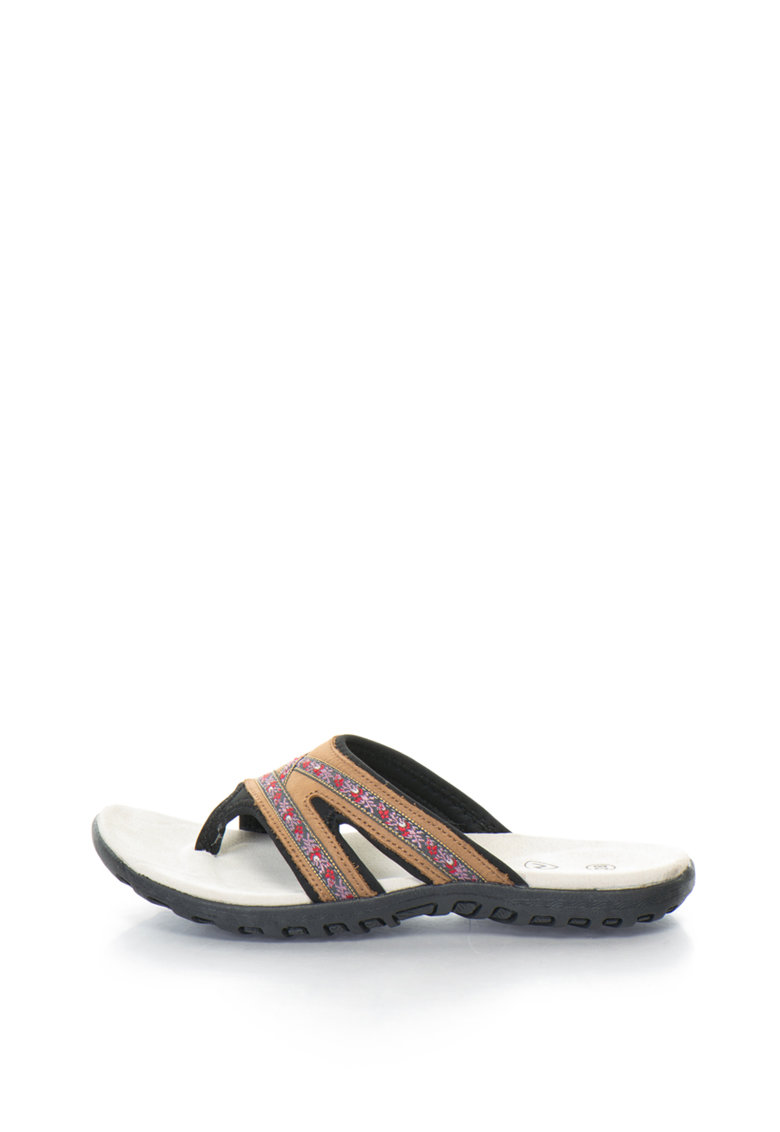 Northland Papuci flip-flop de piele sintetica
