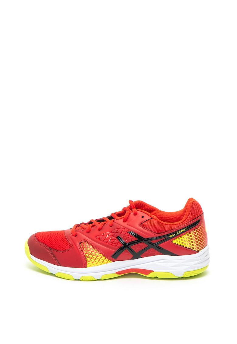 Pantofi cu detalii contrastante - pentru handbal Gel-Domain 4