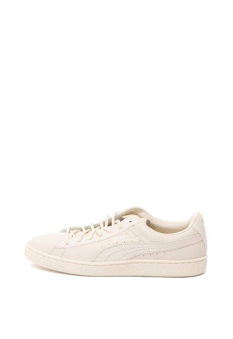 Pantofi sport de piele Basket Classic Citi de la Puma