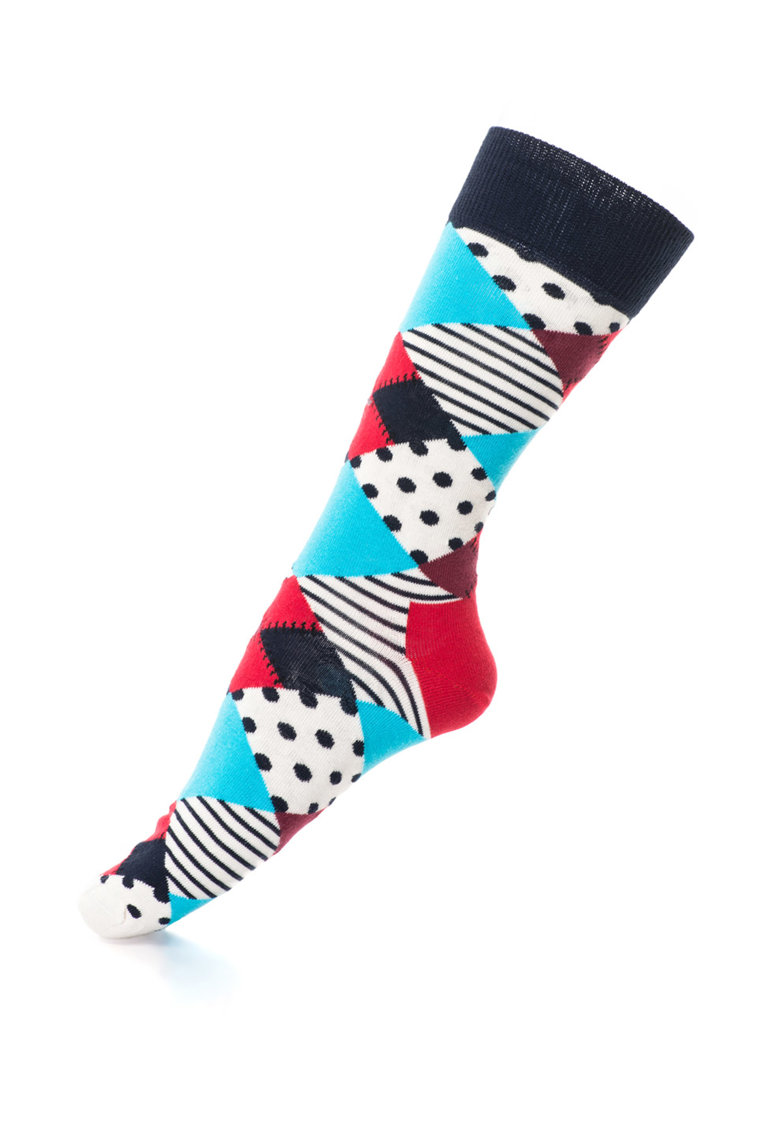 Sosete lungi cu modele diverse – Unisex de la Happy Socks