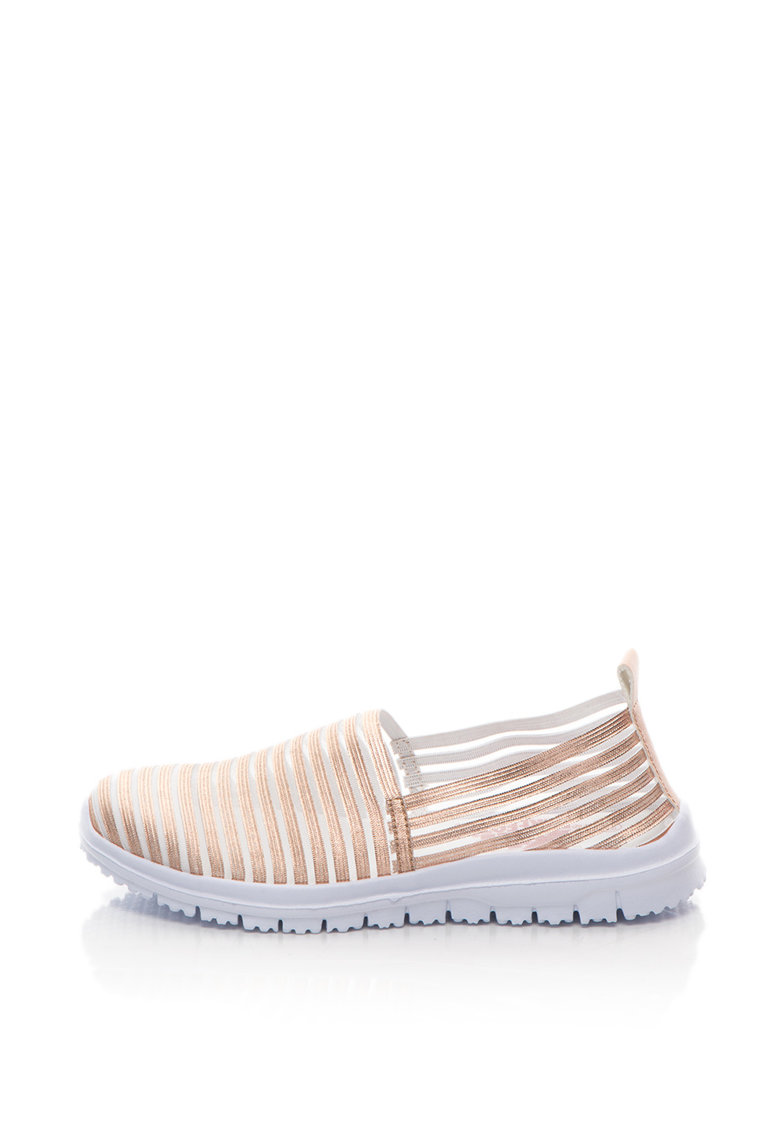 Pantofi slip-on usori cu detalii transparente de la Xti