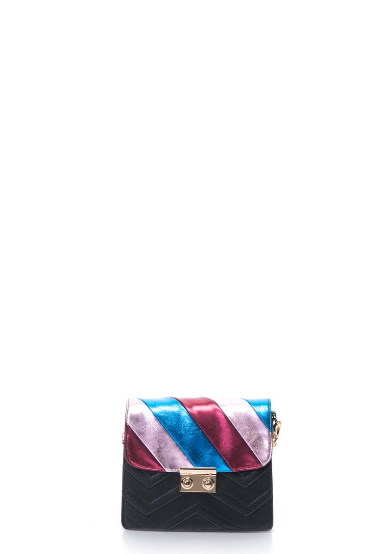 Gioseppo Geanta crossbody de piele sintetica cu model color block