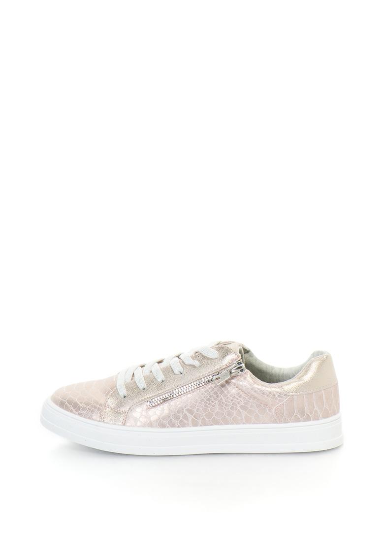 Refresh Pantofi sport – de piele sintetica – cu fermoar decorativ
