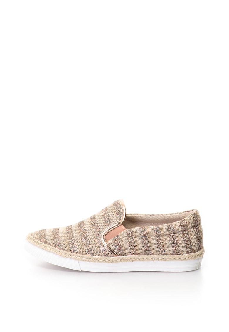 Refresh Pantofi slip-on cu insertii stralucitoare Zapato