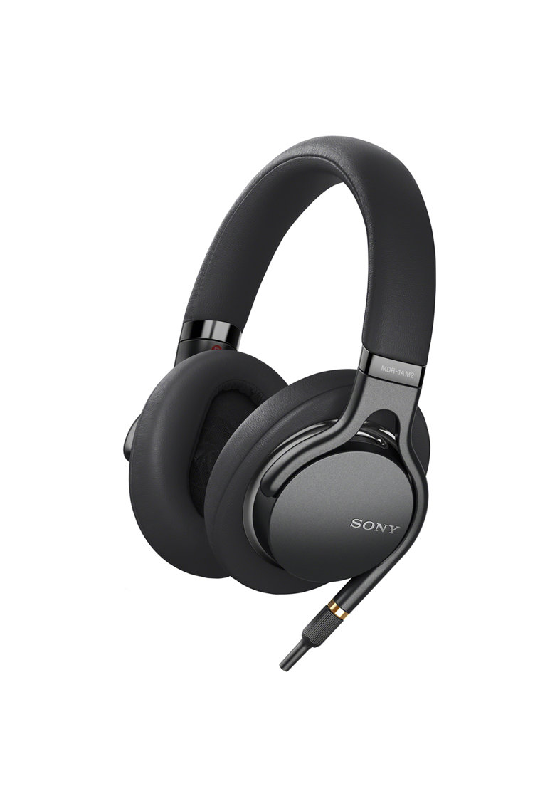 Casti Hi-Fi MDR-1AM2B - Hi-Res - 3-10.0000 Hz - Microfon -