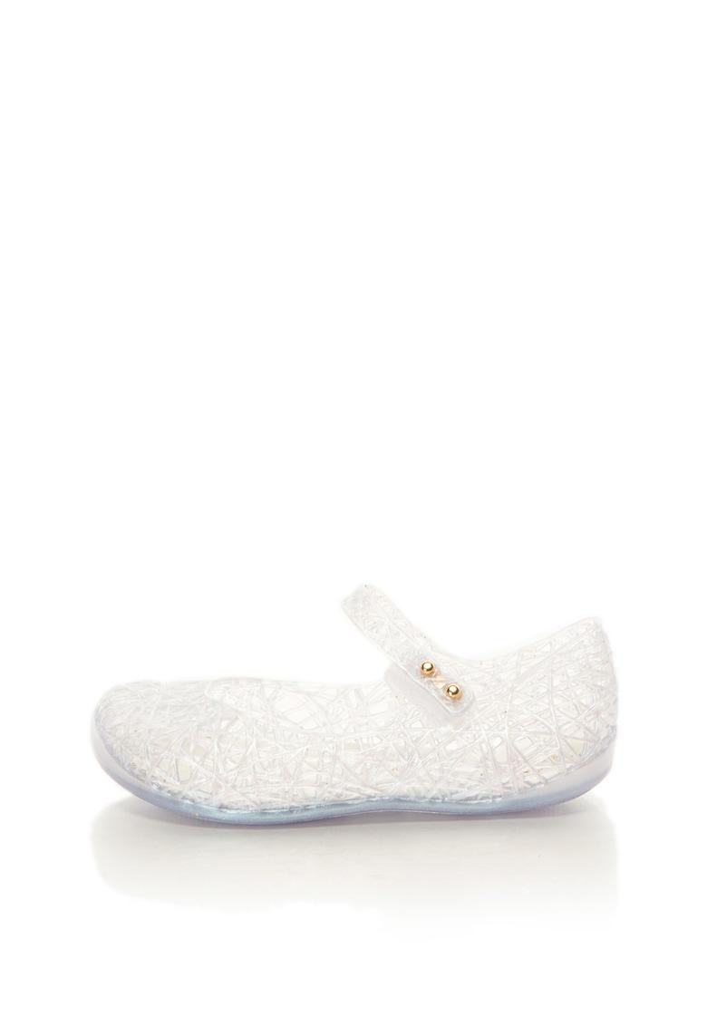Pantofi Mary Jane cu aspect perforat Zig Zag V