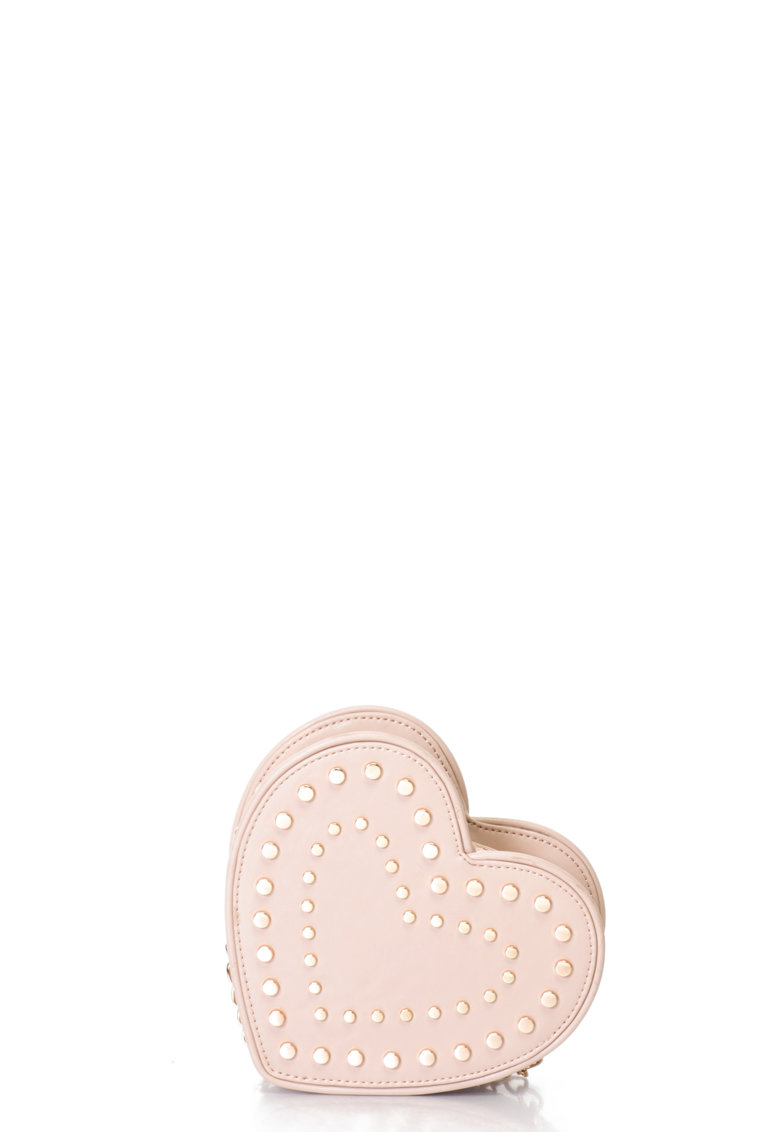 Fornarina Geanta crossbody mica in forma de inima Valentine