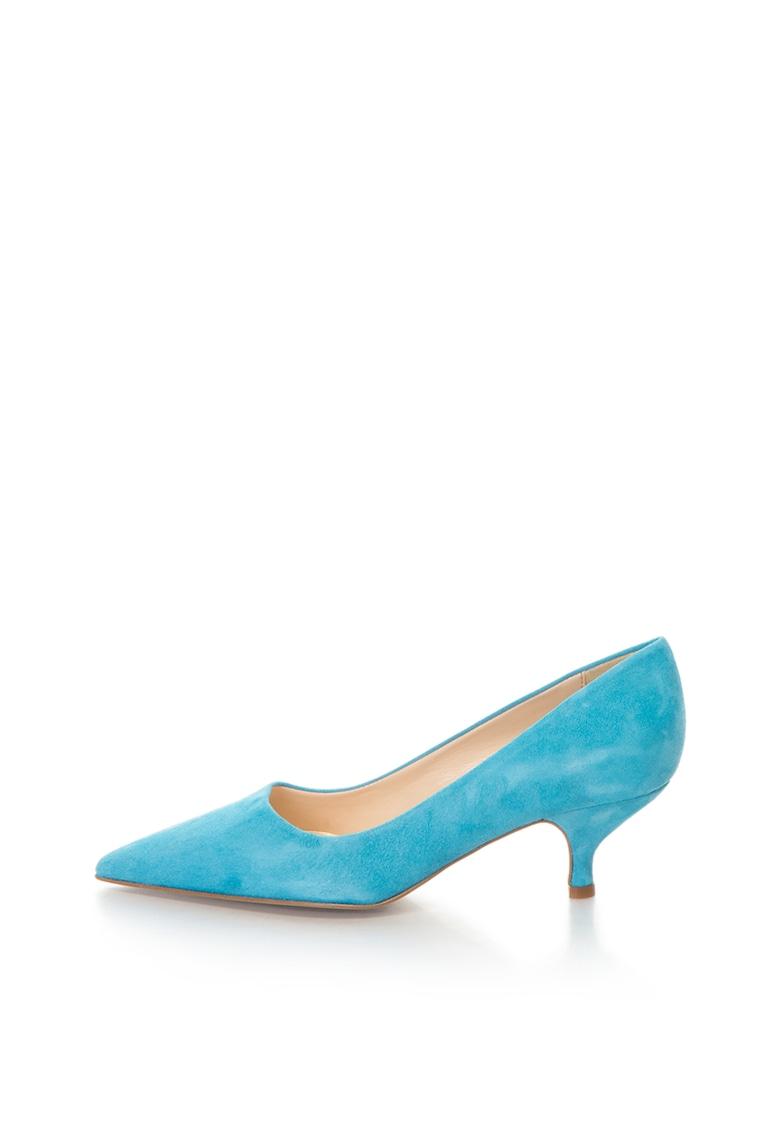 Zee Lane Pantofi de piele intoarsa cu varf ascutit