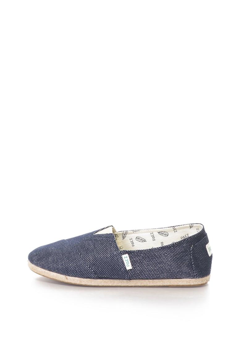 Paez Pantofi slip-on de panza cu insertii de fire stralucitoare