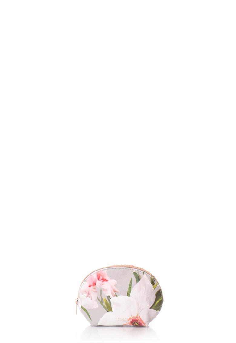 Geanta pentru cosmetice cu model floral Margita de la Ted Baker