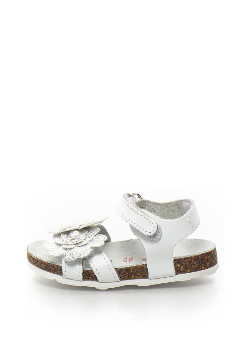 Zee Lane Sandale de piele cu benzi velcro Ariel