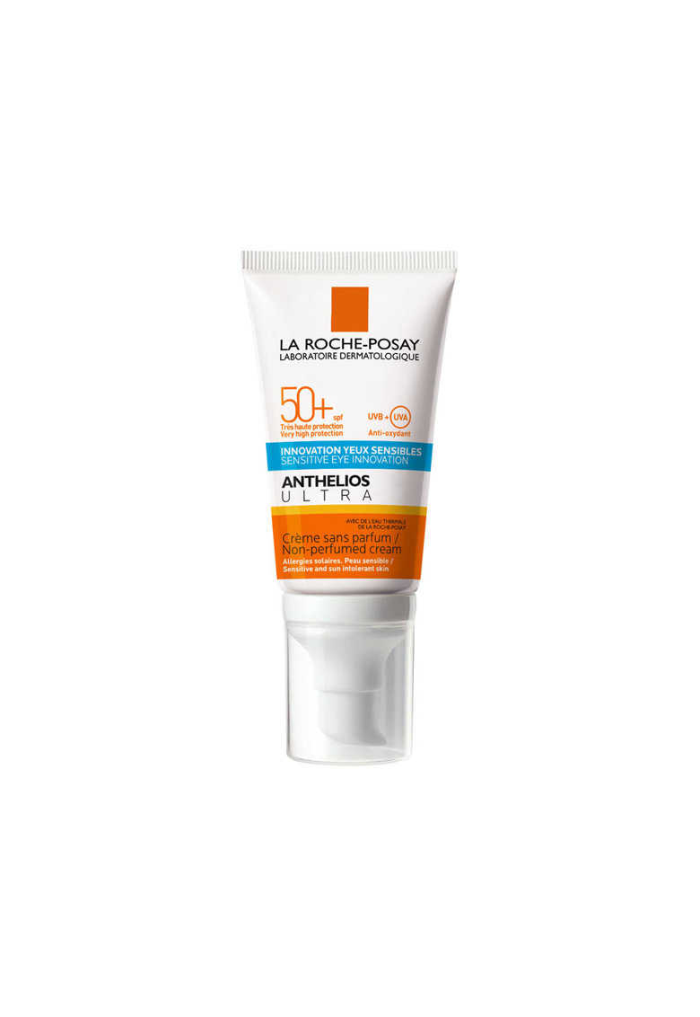 La Roche-Posay Crema de fata cu protectie solara  Anthelios Ultra Sensitive SPF 50+ - potrivita si pentru zona ochilor - 50 ml