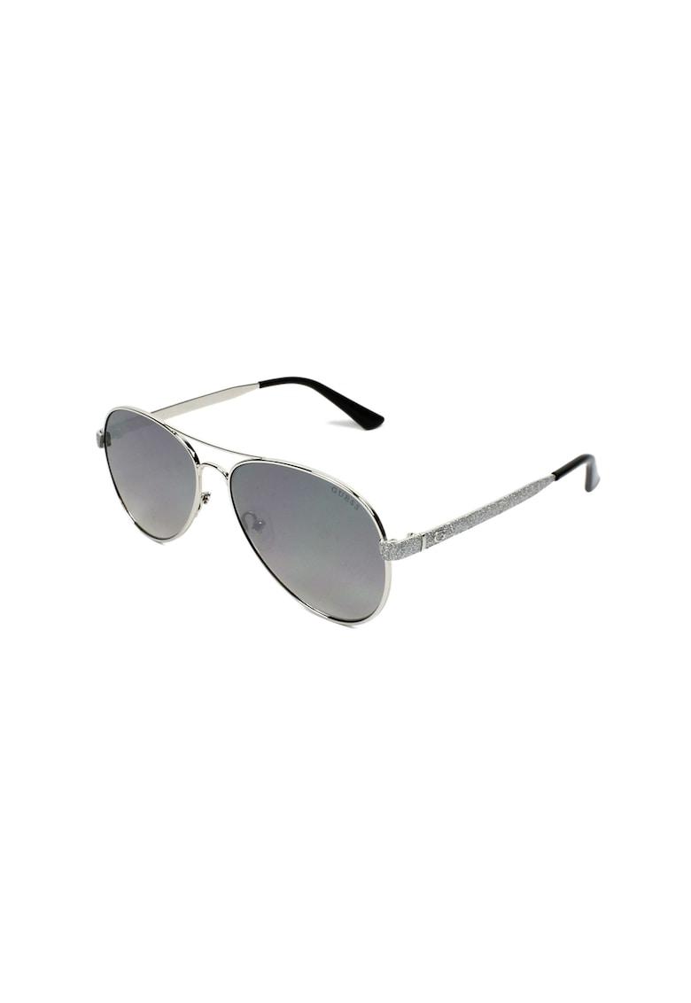 Ochelari de soare aviator 10 de la Guess