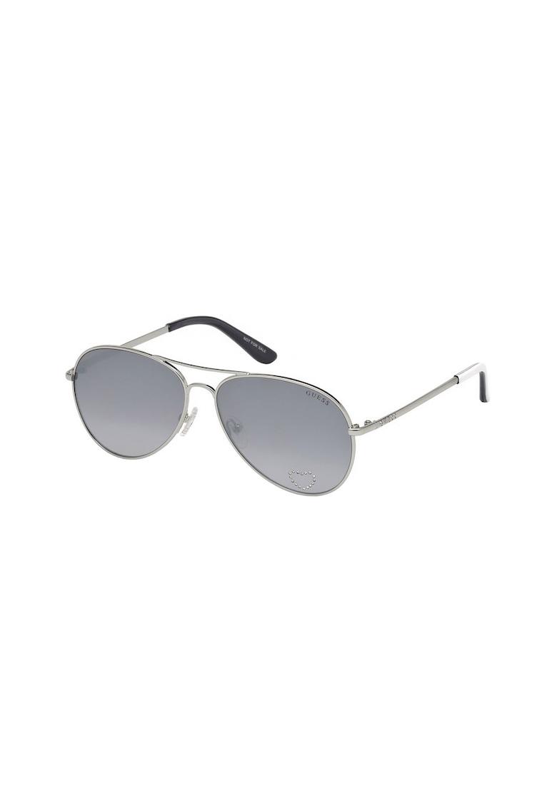 Ochelari de soare aviator 8 de la Guess